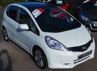 USED 2013 63 HONDA JAZZ 1.3 I-VTEC EX 5d AUTO 98 BHP Top of the Range - Low Miles - FULL S/H - Rare Automatic