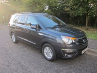 2016 SSANGYONG RODIUS TURISMO 2.2 EX 5d AUTO 176 BHP, LEATHER £16500.00