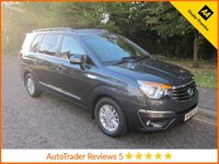 USED 2016 66 SSANGYONG RODIUS TURISMO 2.2 EX 5d AUTO 176 BHP, *ULEZ COMPLIANT*EURO 6*LEATHER Fantastic Value Automatic Ssangyong Turismo with Seven Seats, Full Leather, Climate Control, Cruise Control, Alloy Wheels and Ssangyong Service History. This Vehicle is ULEZ Compliant with a EURO 6 Rated Engine