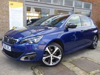 2016 PEUGEOT 308 1.6 BLUE HDI S/S GT LINE 5d 120 BHP £SOLD