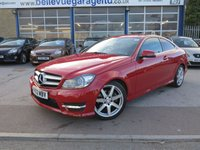 2013 MERCEDES-BENZ C CLASS 2.1 C250 CDI BLUEEFFICIENCY AMG SPORT 2d AUTO 204 BHP £13499.00