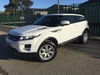2013 LAND ROVER RANGE ROVER EVOQUE 2.2 SD4 PURE 3d 190 BHP 4WD LEATHER 18 ALLOYS  £15490.00