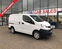 USED 2014 64 NISSAN NV200 1.5 DCI ACENTA 1d 90 BHP NO DEPOSIT AVAILABLE, DRIVE AWAY TODAY!!