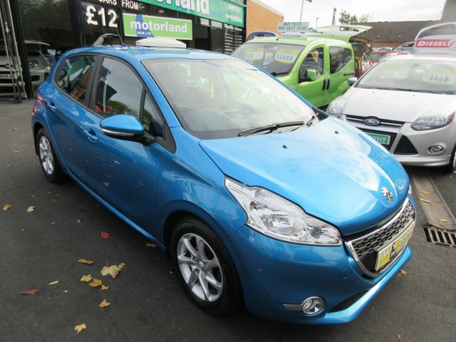 USED 2013 13 PEUGEOT 208 1.4 ACTIVE 5d 95 BHP **FULL SERVICE HISTORY..JUST ARRIVED..BUY NOW PAY LATER FINANCE AVAILABLE..