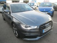 2014 AUDI A6 2.0 AVANT TDI ULTRA S LINE BLACK EDITION 5d 188 BHP ESTATE £14995.00