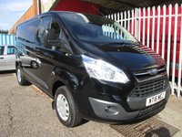 USED 2016 16 FORD TRANSIT CUSTOM 290 TREND SWB L1 Low Roof 125 PS *BLUETOOTH + CRUISE* CRUISE CONTROL + BLUETOOTH + LED LOAD LIGHTS