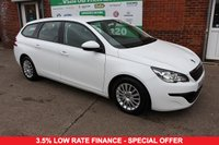 USED 2015 15 PEUGEOT 308 1.6 BLUE HDI S/S SW ACCESS 5d 100 BHP +DIESEL +FREE TAX +SERVICED.
