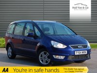 USED 2014 64 FORD GALAXY 1.6 ZETEC TDCI 5d 115 BHP 7 SEAT, 1 OWNER,FSH,BLUETOOTH