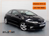 USED 2009 59 HONDA CIVIC 1.8 I-VTEC TYPE S GT 3d 138 BHP Finance Available In House
