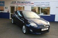 2013 FORD FOCUS 1.6 ZETEC 5d 104 BHP £5950.00