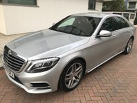USED 2015 15 MERCEDES-BENZ S CLASS 3.5 S400 HYBRID L AMG LINE EXECUTIVE 4d AUTO 306 BHP