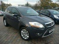 2011 FORD KUGA 2.0 TITANIUM TDCI AWD 5d 163 BHP £7799.00