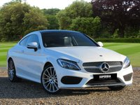 USED 2017 17 MERCEDES-BENZ C CLASS 2.1 C 250 D AMG LINE PREMIUM 2d AUTO 201 BHP An amazing car with an amazing spec!
