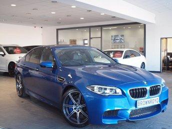 2016 BMW M5 4.4 M5 4d AUTO 567 BHP £37990.00