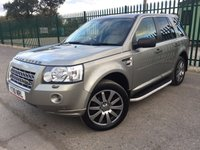 2010 LAND ROVER FREELANDER 2 2.2 TD4 E HSE 5d 159 BHP PAN ROOF SAT NAV LEATHER FSH £9790.00