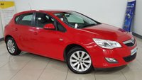 USED 2011 11 VAUXHALL ASTRA 1.6 EXCLUSIV 5d 113 BHP