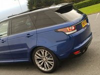 USED 2015 15 LAND ROVER RANGE ROVER SPORT 5.0 SVR 5d AUTO 550 BHP