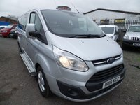 2015 FORD TOURNEO CUSTOM 2.2 300 LIMITED TDCI 5d 124 BHP £11495.00