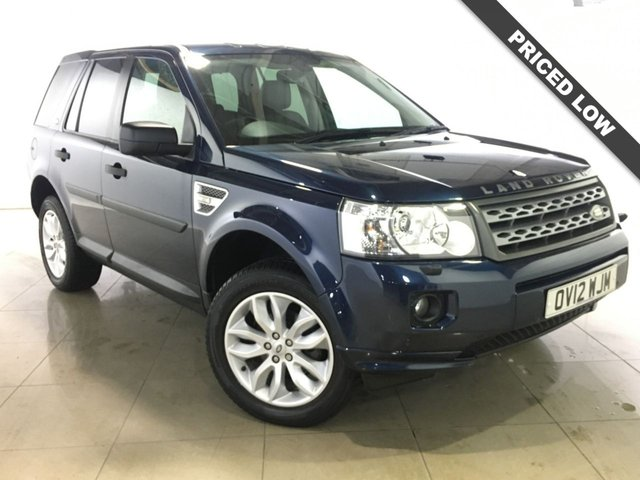 View our 2012 12 LAND ROVER FREELANDER 2.2 TD4 XS 5d 150 BHP