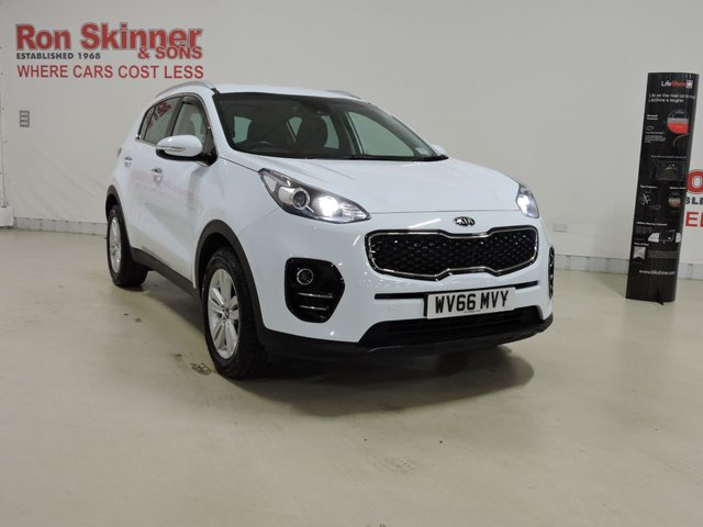 View our 2016 66 KIA SPORTAGE 1.7 CRDI 2 ISG 5d 114 BHP