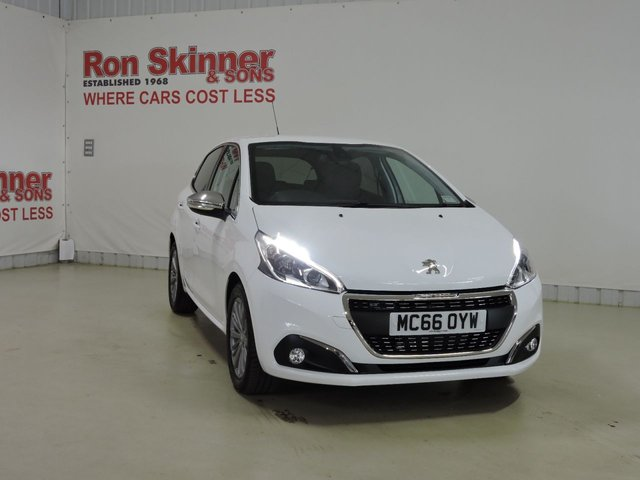 View our 2017 66 PEUGEOT 208 1.2 PURETECH ALLURE 5d 82 BHP