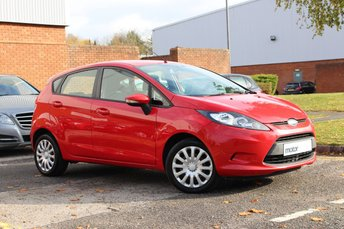 2010 FORD FIESTA 1.2 EDGE 5d 81 BHP £3700.00