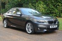2016 BMW 2 SERIES 2.0 220I M SPORT 2d AUTO 181 BHP £19000.00