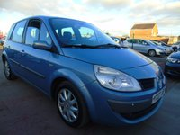2007 RENAULT SCENIC 1.9 DYNAMIQUE DCI DIESEL RUNS WELL £1295.00