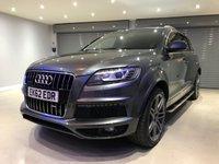 2012 AUDI Q7 3.0 TDI QUATTRO S LINE PLUS 5d AUTO 245 BHP £22950.00