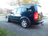 USED 2006 06 LAND ROVER DISCOVERY 2.7 3 TDV6 SE 5d 188 BHP 7 SEAT FANTASTIC CONDITION DISCOVERY. SAT NAV. BLUETOOTH. REAR DVD SCREENS.