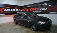 2012 BMW 5 SERIES 2.0 520D M SPORT 4DOOR AUTO 181 BHP SOPHISTO GREY £11795.00