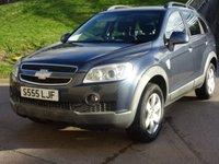 2008 CHEVROLET CAPTIVA 2.0 LT VCDI 5d AUTO 148 BHP £4500.00