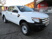 USED 2012 62 FORD RANGER 2.5 XL 4X4 Double Cab Pick up *ONLY 46000 MILES* FOUR WHEEL DRIVE - LOW MILES - SERVICE HISTORY