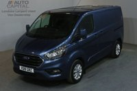 USED 2018 18 FORD TRANSIT CUSTOM 2.0 280 LIMITED L1 H1 130 BHP SWB EURO 6 AIR CON AIR CONDITIONING EURO 6 ENGINE