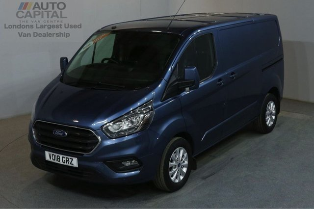 2018 18 FORD TRANSIT CUSTOM 2.0 280 LIMITED L1 H1 130 BHP SWB EURO 6 AIR CON AIR CONDITIONING EURO 6 ENGINE