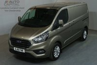 USED 2018 18 FORD TRANSIT CUSTOM 2.0 300 LIMITED L1 H1 130 BHP SWB AIR CON EURO 6  AIR CONDITIONING EURO 6 ENGINE