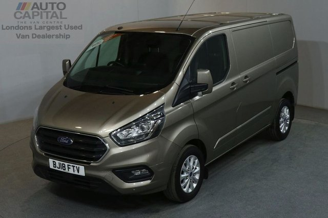 2018 18 FORD TRANSIT CUSTOM 2.0 300 LIMITED L1 H1 130 BHP SWB AIR CON EURO 6