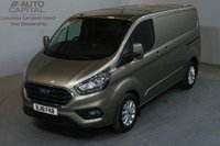 USED 2018 18 FORD TRANSIT CUSTOM 2.0 300 LIMITED L1 H1 130 BHP SWB EURO 6 AIR CON  AIR CONDITIONING EURO 6 ENGINE