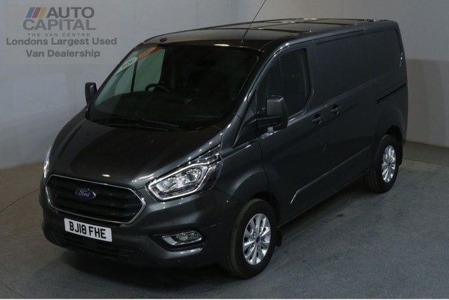 2018 18 FORD TRANSIT CUSTOM 2.0 300 LIMITED L1 H1 130 BHP SWB EURO 6 AIR CON  AIR CONDITIONING EURO 6 ENGINE