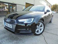 USED 2016 66 AUDI A4 1.4 TFSI SPORT 4d 148 BHP FSH, One Owner, Superb Condition, No Deposit Necessary Finance, Upgraded Wheels and Tints Available