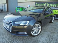 USED 2016 16 AUDI A4 1.4 TFSI SPORT 4d 148 BHP FSH, One Owner, Superb Condition, No Deposit Necessary Finance, Upgraded Wheels and Tints Available