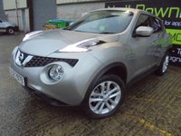 USED 2015 NISSAN JUKE 1.5 ACENTA DCI 5d 110 BHP Extremely Low Mileage, Superb Condition, FSH, No Deposit Needed