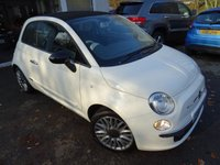 USED 2015 15 FIAT 500 0.9 TWINAIR CONVERTIBLE CULT 3d 85 BHP Low Mileage, Full Service History (Fiat + ourselves), One Owner from new, MOT until October 2019, Great fuel economy! ZERO Road Tax! Convertible