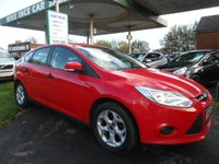 2013 FORD FOCUS 1.6 STUDIO 5d 86 BHP ALLOY UPGRADE £5295.00