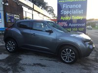 2014 NISSAN JUKE 1.5 TEKNA DCI 5d 110 BHP, 2 owners, only 56000 miles £8995.00