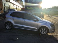 2010 VOLKSWAGEN POLO 1.2 MODA 5d 60 BHP, only 66000 miles £4995.00