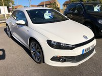 USED 2014 14 VOLKSWAGEN SCIROCCO 2.0 R LINE TDI BLUEMOTION TECHNOLOGY 2d 140 BHP