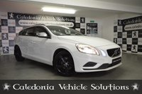 USED 2012 12 VOLVO V60 1.6 DRIVE R-DESIGN S/S 5d 113 BHP 12 MONTHS MOT. EXCELLENT EXAMPLE IN ICE WHITE