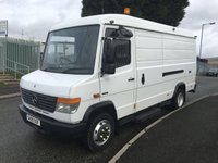 USED 2009 09 MERCEDES-BENZ VARIO 4.2 813D MWB DAY 1d 129 BHP VARIO OIL EXTRACTION UNIT