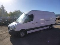 USED 2015 15 MERCEDES-BENZ SPRINTER 2.1 313 CDI LWB 1d 129 BHP LWB HIGH ROOF